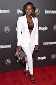 Actress Naturi Naughton attends the Entertainment Weekly People Upfronts party 2016 at Cedar Lake on May 16 2016 in New York City