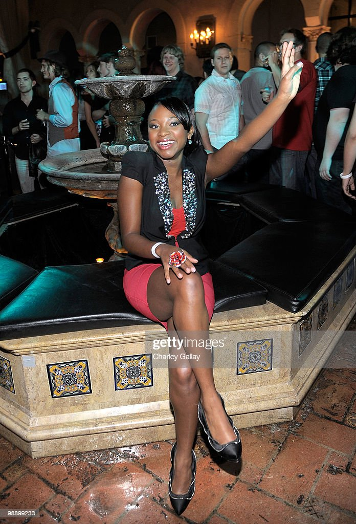 Actress Naturi Naughton attends the 'Lost Planet 2' Lounge at The Roosevelt Hotel on May 6 2010 in Hollywood California