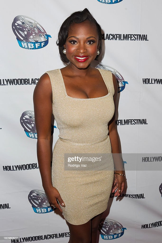 Actress Naturi Naughton attends the Opening Night for the Hollywood Black Film Festival (HBFF) Arrivals at The Ricardo Montalban Theatre on October 2, 2013 in Hollywood, California.