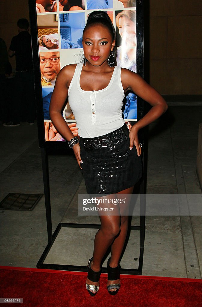 Actress Naturi Naughton attends the premiere of Sony Pictures Classics' 'Mother and Child' at the Egyptian Theater on April 19 2010 in Los Angeles...