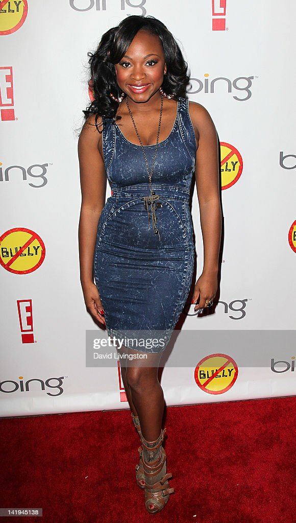 Actress <a gi-track='captionPersonalityLinkClicked' href=/galleries/search?phrase=Naturi+Naughton&family=editorial&specificpeople=2559512 ng-click='$event.stopPropagation()'>Naturi Naughton</a> attends the premiere of The Weinstein Company's 'Bully' at the Mann Chinese 6 on March 26, 2012 in Los Angeles, California.