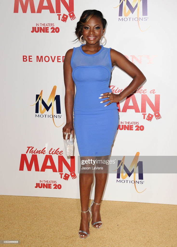 Actress Naturi Naughton attends the premiere of 'Think Like A Man Too' at TCL Chinese Theatre on June 9 2014 in Hollywood California