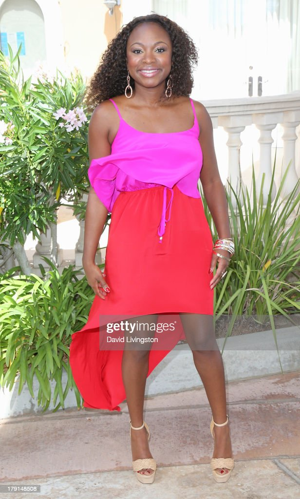 Actress Naturi Naughton attends the Reed for Hope Foundation's 11th Annual 'Sunshine Beyond Summer' celebration at a private residence on August 31, 2013 in Westlake Village, California.
