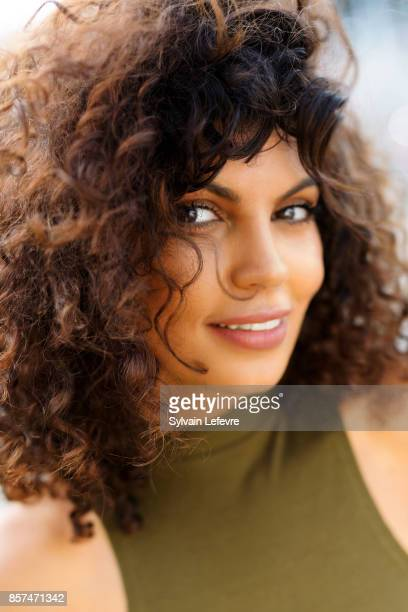 Actress Nawell Madani is photographed for Self Assignment on August 26 2017 in Angouleme France