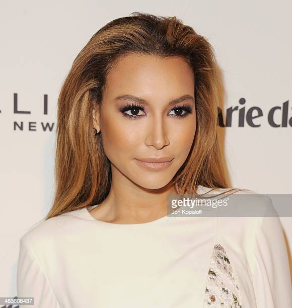 Actress Naya Rivera arrives at Marie Claire's Fresh Faces Party at Soho House on April 8 2014 in West Hollywood California