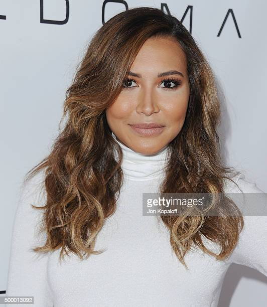 Actress Naya Rivera arrives at the 2015 March Of Dimes Celebration Of Babies at the Beverly Wilshire Four Seasons Hotel on December 4 2015 in Beverly...