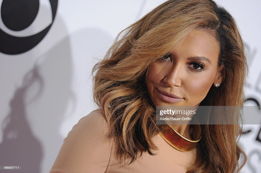 Actress Naya Rivera arrives at The 40th Annual People's Choice Awards at Nokia Theatre L.A. Live on January 8, 2014 in Los Angeles, California.