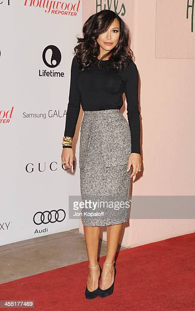 Actress Naya Rivera arrives at The Hollywood Reporter's 22nd Annual Women In Entertainment Breakfast 2013 at Beverly Hills Hotel on December 11 2013...
