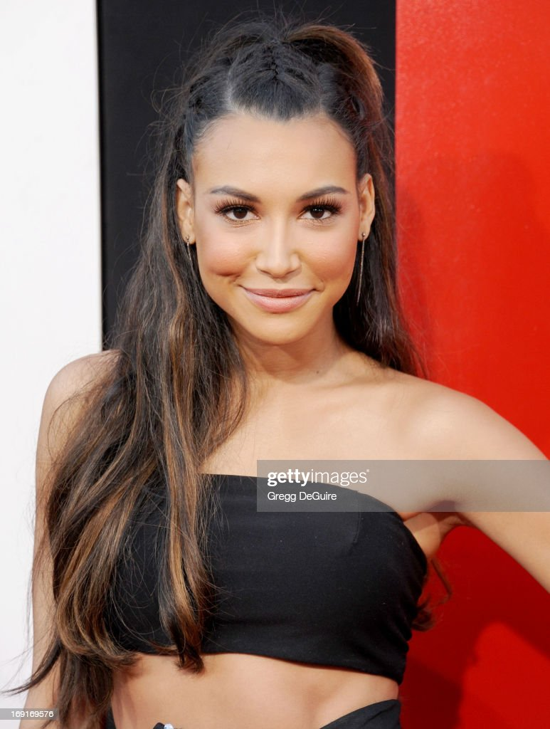 Actress Naya Rivera arrives at the Los Angeles premiere of 'The Hangover III' at Mann's Village Theatre on May 20, 2013 in Westwood, California.
