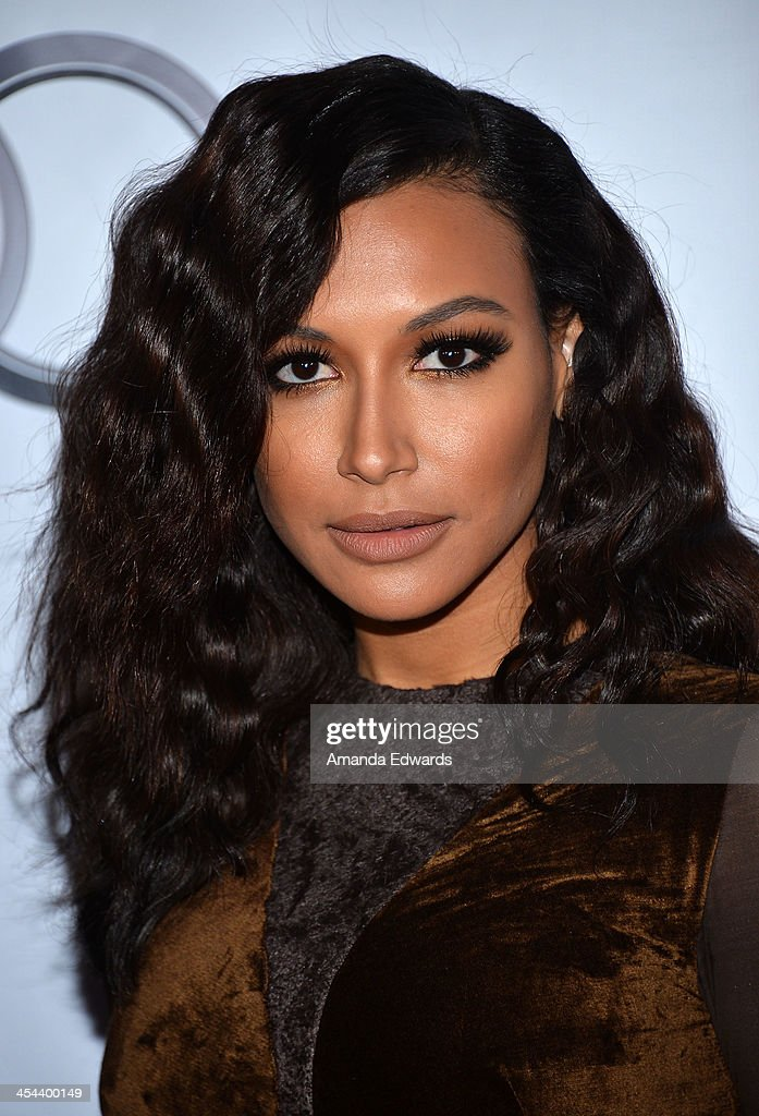 Actress <a gi-track='captionPersonalityLinkClicked' href=/galleries/search?phrase=Naya+Rivera&family=editorial&specificpeople=5745696 ng-click='$event.stopPropagation()'>Naya Rivera</a> arrives at the TrevorLIVE Los Angeles Benefit celebrating The Trevor Project's 15th anniversary at the Hollywood Palladium on December 8, 2013 in Hollywood, California.