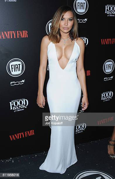 Actress Naya Rivera arrives at Vanity Fair And FIAT Toast To 'Young Hollywood' at Chateau Marmont on February 23 2016 in Los Angeles California