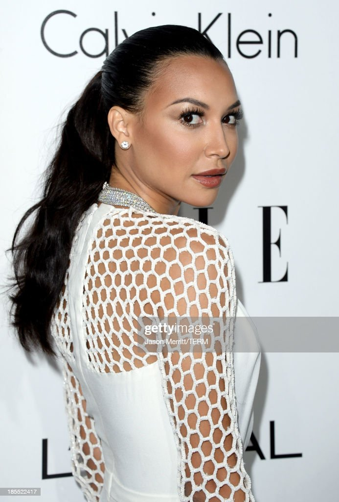 Actress Naya Rivera attends ELLE's 20th Annual Women In Hollywood Celebration at Four Seasons Hotel Los Angeles at Beverly Hills on October 21, 2013 in Beverly Hills, California.