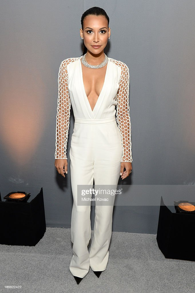 Actress <a gi-track='captionPersonalityLinkClicked' href=/galleries/search?phrase=Naya+Rivera&family=editorial&specificpeople=5745696 ng-click='$event.stopPropagation()'>Naya Rivera</a> attends ELLE's 20th Annual Women In Hollywood Celebration at Four Seasons Hotel Los Angeles at Beverly Hills on October 21, 2013 in Beverly Hills, California.