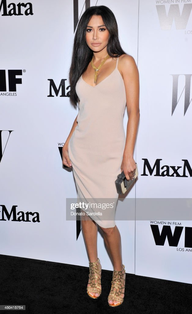 Actress Naya Rivera attends MaxMara And W Magazine Cocktail Party To Honor The Women In Film MaxMara Face Of The Future, Rose Byrne at Chateau Marmont on June 10, 2014 in Los Angeles, California.
