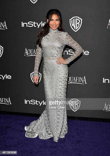 Actress Naya Rivera attends the 16th Annual Warner Bros and InStyle PostGolden Globe Party at The Beverly Hilton Hotel on January 11 2015 in Beverly...