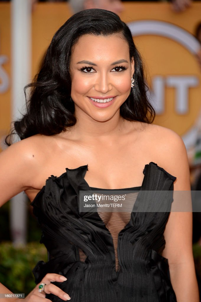 Actress Naya Rivera attends the 19th Annual Screen Actors Guild Awards at The Shrine Auditorium on January 27, 2013 in Los Angeles, California. (Photo by Jason Merritt/WireImage) 23116_014_1436.jpg