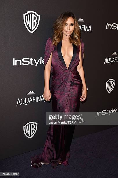 Actress Naya Rivera attends The 2016 InStyle And Warner Bros 73rd Annual Golden Globe Awards PostParty at The Beverly Hilton Hotel on January 10 2016...