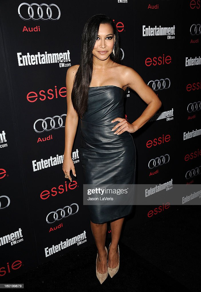 Actress Naya Rivera attends the Entertainment Weekly Screen Actors Guild Awards pre-party at Chateau Marmont on January 26, 2013 in Los Angeles, California.