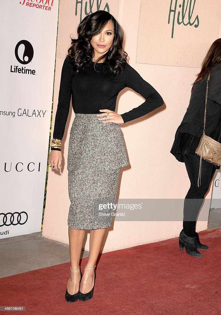 Actress Naya Rivera attends The Hollywood Reporter's 22nd annual Women In Entertainment Breakfast Honoring Oprah Winfrey at Beverly Hills Hotel on December 11, 2013 in Beverly Hills, California.