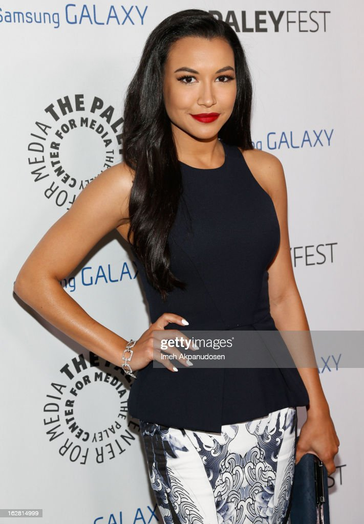 Actress <a gi-track='captionPersonalityLinkClicked' href=/galleries/search?phrase=Naya+Rivera&family=editorial&specificpeople=5745696 ng-click='$event.stopPropagation()'>Naya Rivera</a> attends the Inaugural PaleyFest Icon Award honoring Ryan Murphy at The Paley Center for Media on February 27, 2013 in Beverly Hills, California.