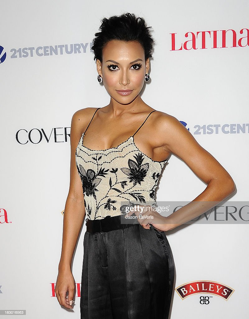 Actress <a gi-track='captionPersonalityLinkClicked' href=/galleries/search?phrase=Naya+Rivera&family=editorial&specificpeople=5745696 ng-click='$event.stopPropagation()'>Naya Rivera</a> attends the Latina Magazine 'Hollywood Hot List' party at The Redbury Hotel on October 3, 2013 in Hollywood, California.