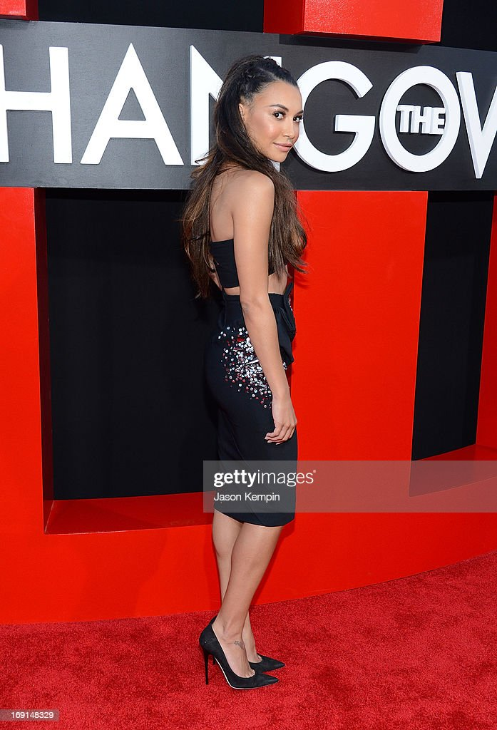 Actress Naya Rivera attends the premiere of Warner Bros. Pictures' 'Hangover Part 3' on May 20, 2013 in Westwood, California.