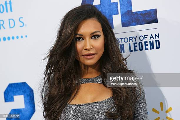 Actress Naya Rivera attends the premiere of Warner Bros Pictures' And Legendary Pictures' '42' at TCL Chinese Theatre on April 9 2013 in Hollywood...