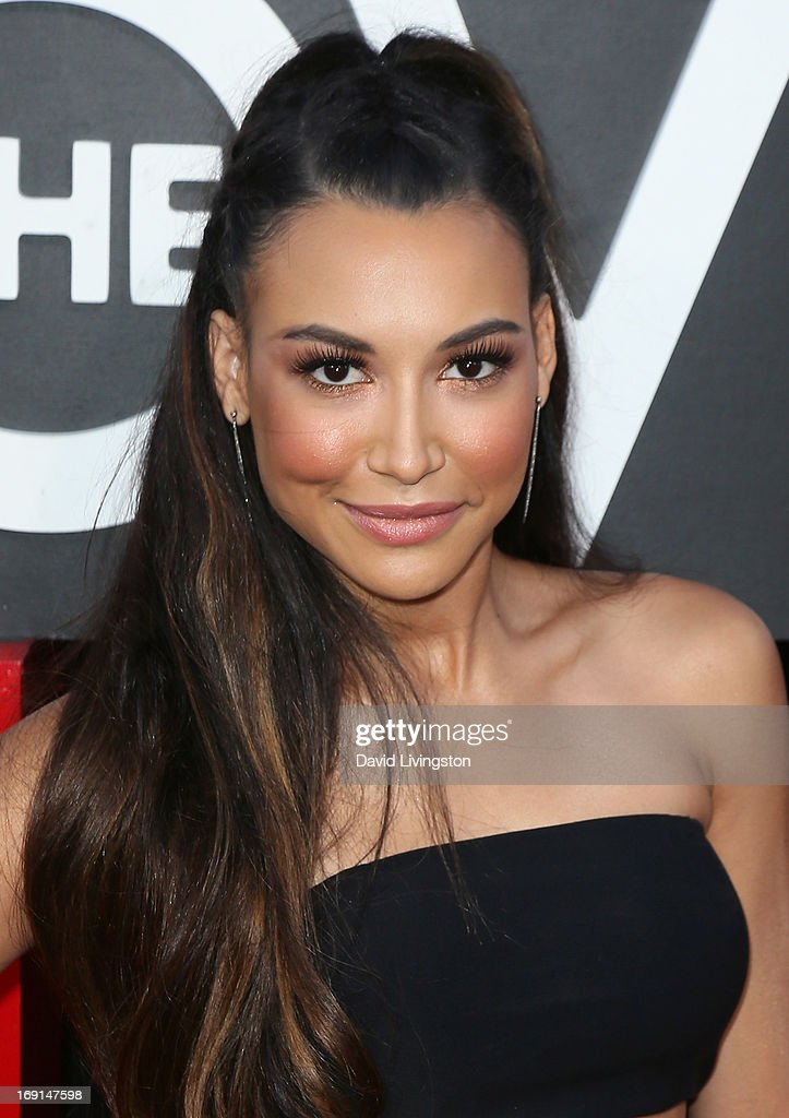 Actress <a gi-track='captionPersonalityLinkClicked' href=/galleries/search?phrase=Naya+Rivera&family=editorial&specificpeople=5745696 ng-click='$event.stopPropagation()'>Naya Rivera</a> attends the premiere of Warner Bros. Pictures' 'Hangover Part III' at the Westwood Village Theater on May 20, 2013 in Westwood, California.
