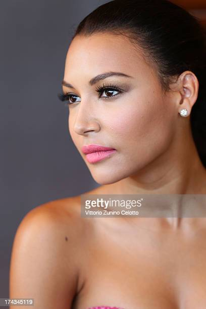 Actress Naya Rivera poses for a portrait session at the 2013 Giffoni Film Festival on July 24 2013 in Giffoni Valle Piana Italy