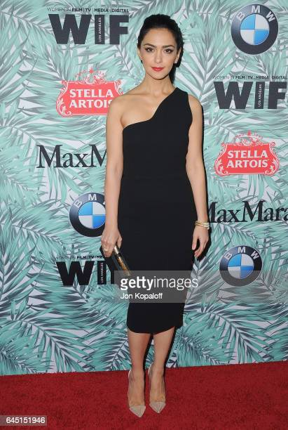 Actress Nazanin Boniadi arrives at the 10th Annual Women In Film PreOscar Cocktail Party at Nightingale Plaza on February 24 2017 in Los Angeles...
