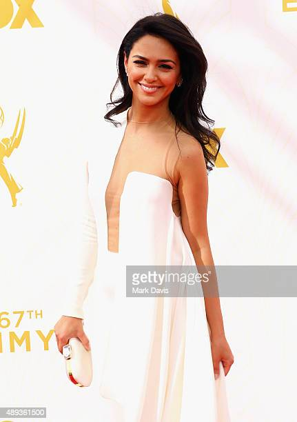 Actress Nazanin Boniadi attends the 67th Annual Primetime Emmy Awards at Microsoft Theater on September 20 2015 in Los Angeles California