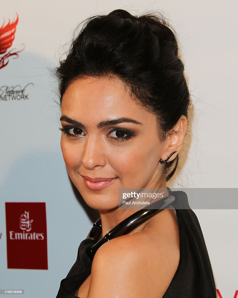 Actress Nazanin Boniadi attends the premiere of 'Shirin In Love' at Avalon on March 11, 2014 in Hollywood, California.