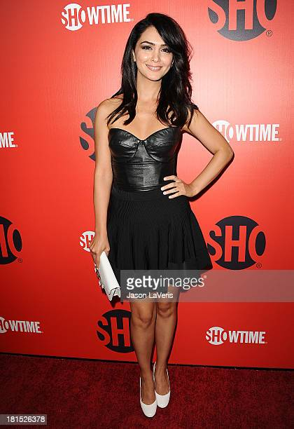 Actress Nazanin Boniadi attends the Showtime Emmy eve soiree at Sunset Tower on September 21 2013 in West Hollywood California