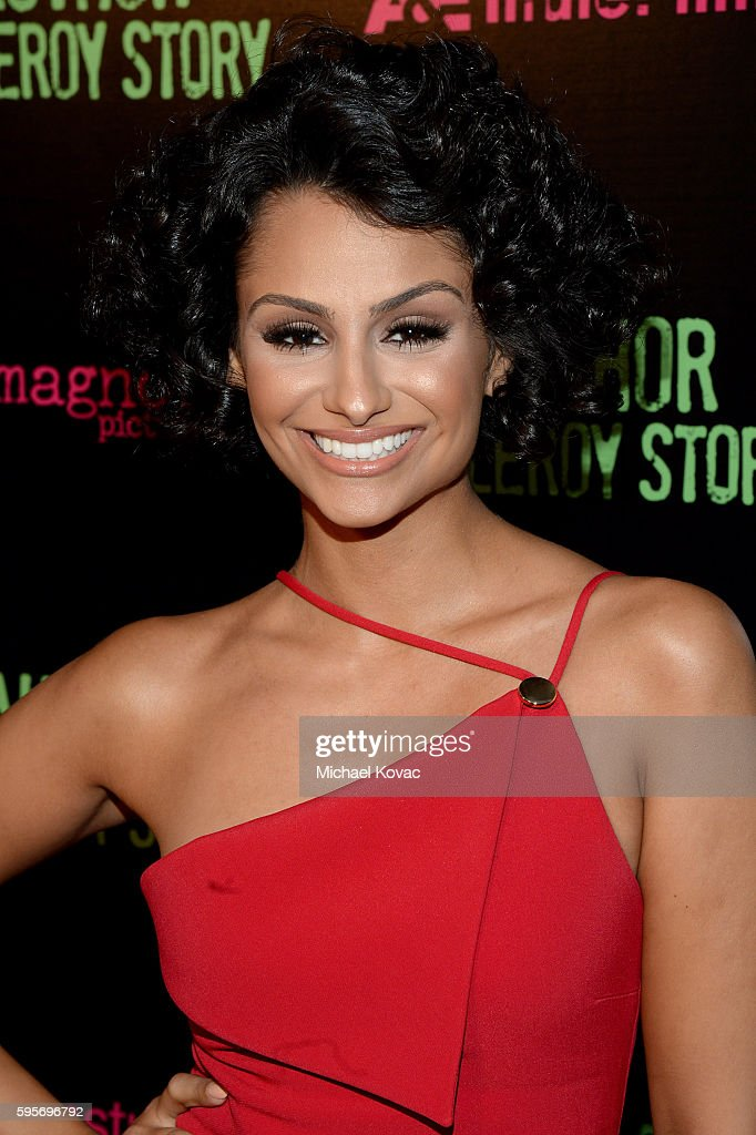Actress Nazanin Mandi attend the Los Angeles Premiere of 'Author The JT Leroy Story' at NeueHouse Hollywood on August 25 2016 in Los Angeles...