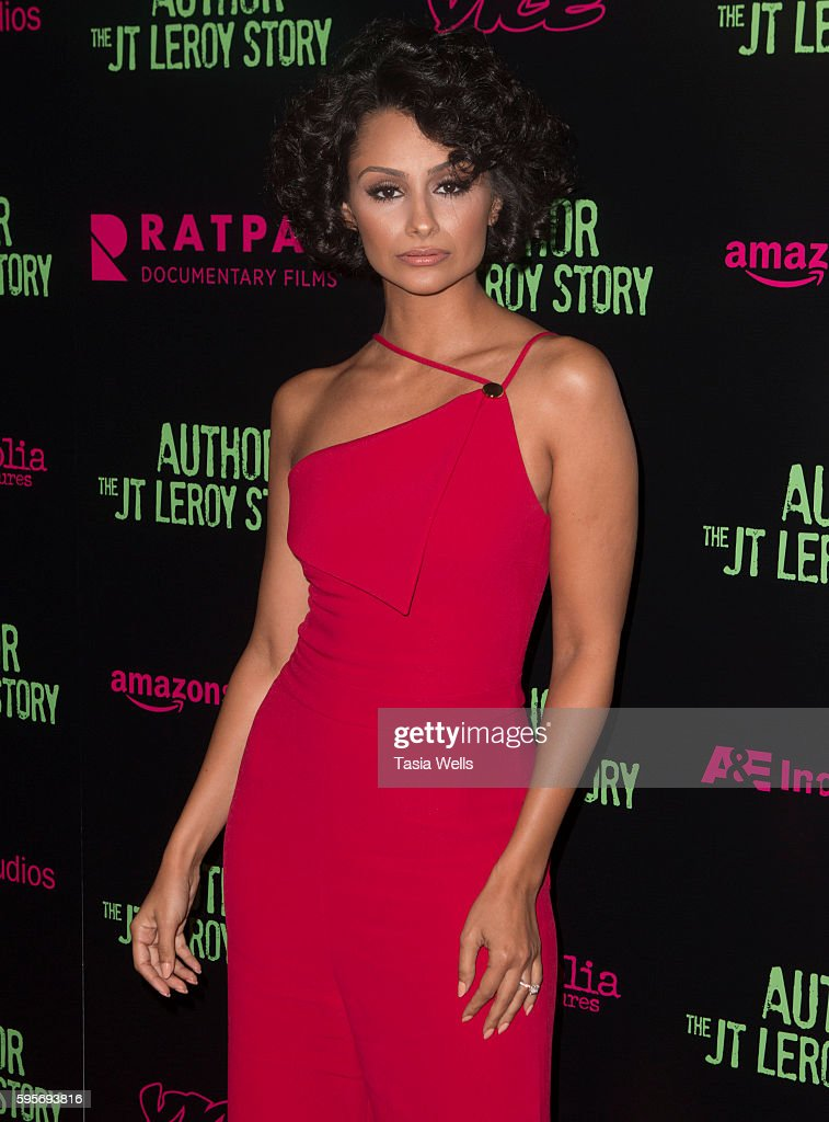 Actress Nazanin Mandi attends the premiere of Amazon Studios' 'Author The JT Leroy Story' at NeueHouse Hollywood on August 25 2016 in Los Angeles...