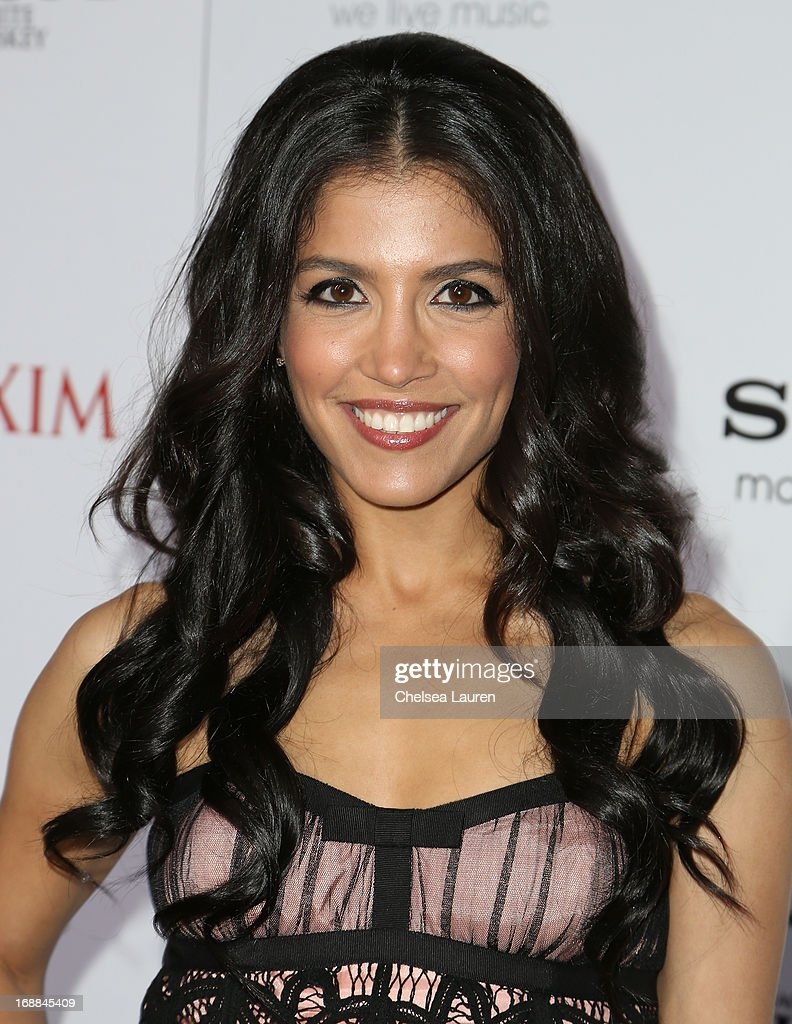 Actress Nazneen Contractor arrives for Maxim's Hot 100 Celebration at Create Nightclub on May 15, 2013 in Hollywood, California.