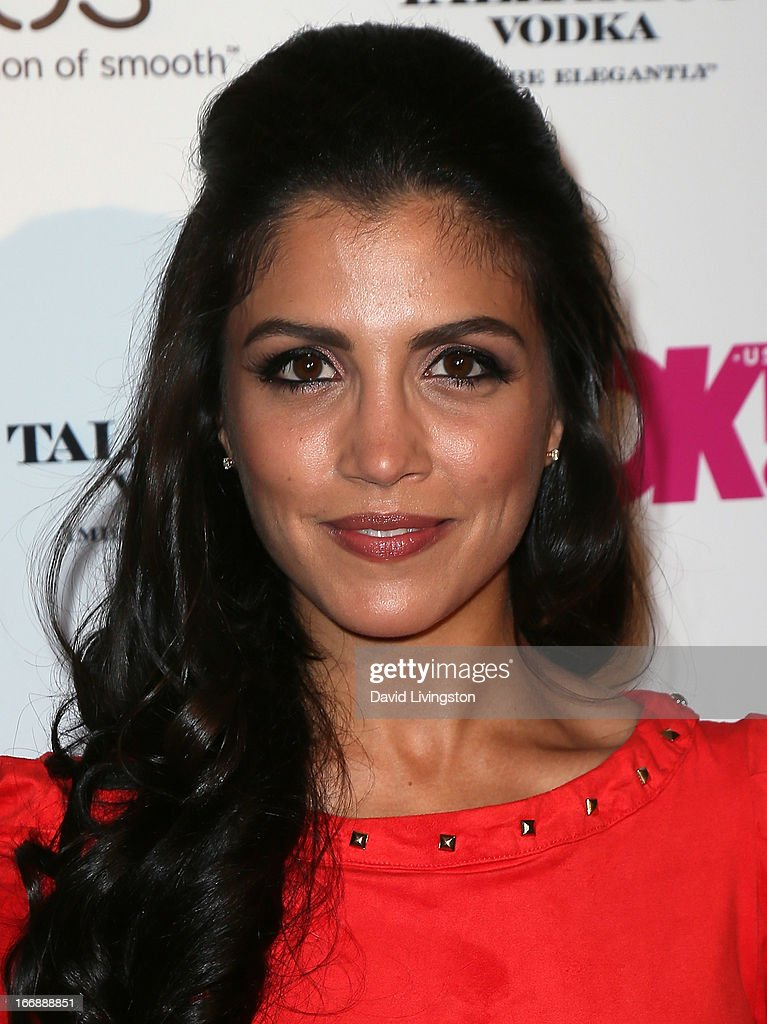 Actress Nazneen Contractor attends the OK! Magazine 'So Sexy' LA party at SkyBar at the Mondrian Los Angeles on April 17, 2013 in West Hollywood, California.