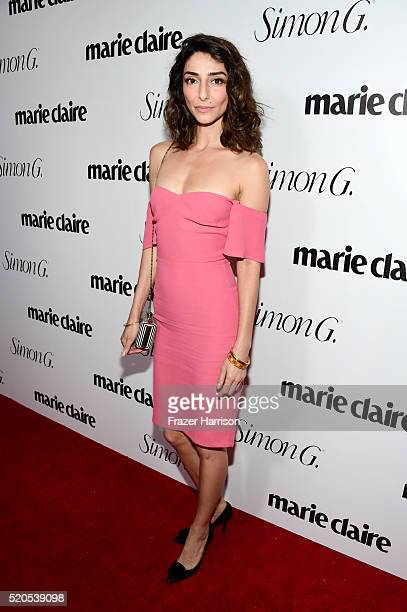 Actress Necar Zadegan attends the 'Fresh Faces' party hosted by Marie Claire celebrating the May issue cover stars on April 11 2016 in Los Angeles...