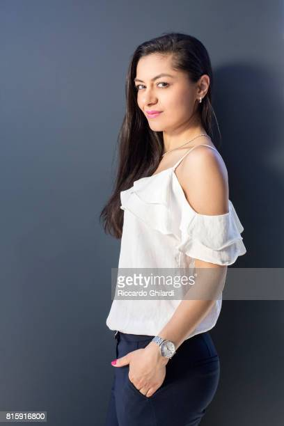 Actress Negar Mona Alizadeh is photographed for Self Assignment on May 21 2017 in Cannes France
