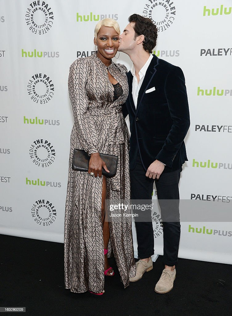 Actress <a gi-track='captionPersonalityLinkClicked' href=/galleries/search?phrase=NeNe+Leakes&family=editorial&specificpeople=5446374 ng-click='$event.stopPropagation()'>NeNe Leakes</a> and actor Jayson Blair attend the Paley Center For Media's PaleyFest 2013 Honoring 'The New Normal' at Saban Theatre on March 6, 2013 in Beverly Hills, California.