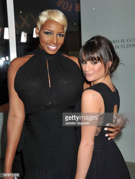 Actress NeNe Leakes and Actress Lea Michele attend the PaleyFest Icon Award 2013 held at The Paley Center for Media on February 27 2013 in Beverly...