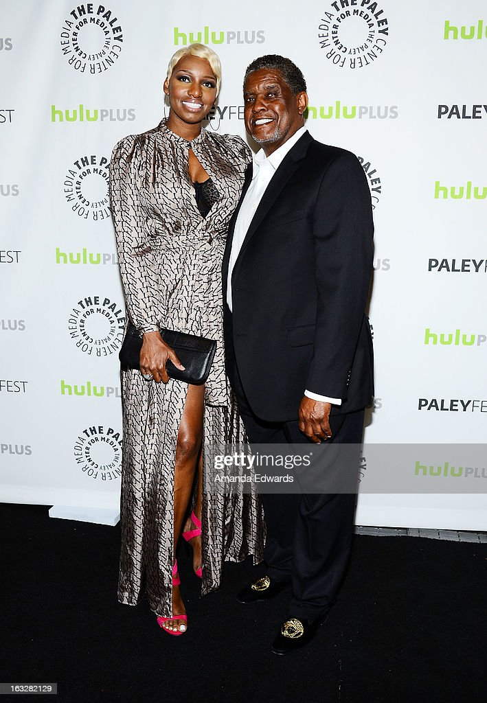 Actress <a gi-track='captionPersonalityLinkClicked' href=/galleries/search?phrase=NeNe+Leakes&family=editorial&specificpeople=5446374 ng-click='$event.stopPropagation()'>NeNe Leakes</a> (L) and Gregg Leakes arrive at the 30th Annual PaleyFest: The William S. Paley Television Festival featuring 'The New Normal' at the Saban Theatre on March 6, 2013 in Beverly Hills, California.