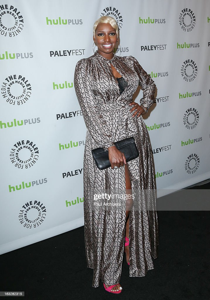 Actress NeNe Leakes attends the 30th annual PaleyFest featuring the cast of 'The New Normal' at Saban Theatre on March 6 2013 in Beverly Hills...
