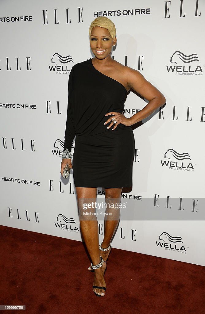 Actress NeNe Leakes attends the ELLE's Women in Television Celebration at Soho House on January 24, 2013 in West Hollywood, California.