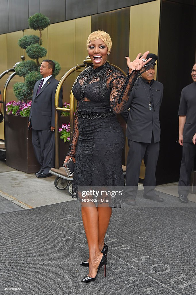 Actress NeNe Leakes is seen on May 15 2014 in New York City