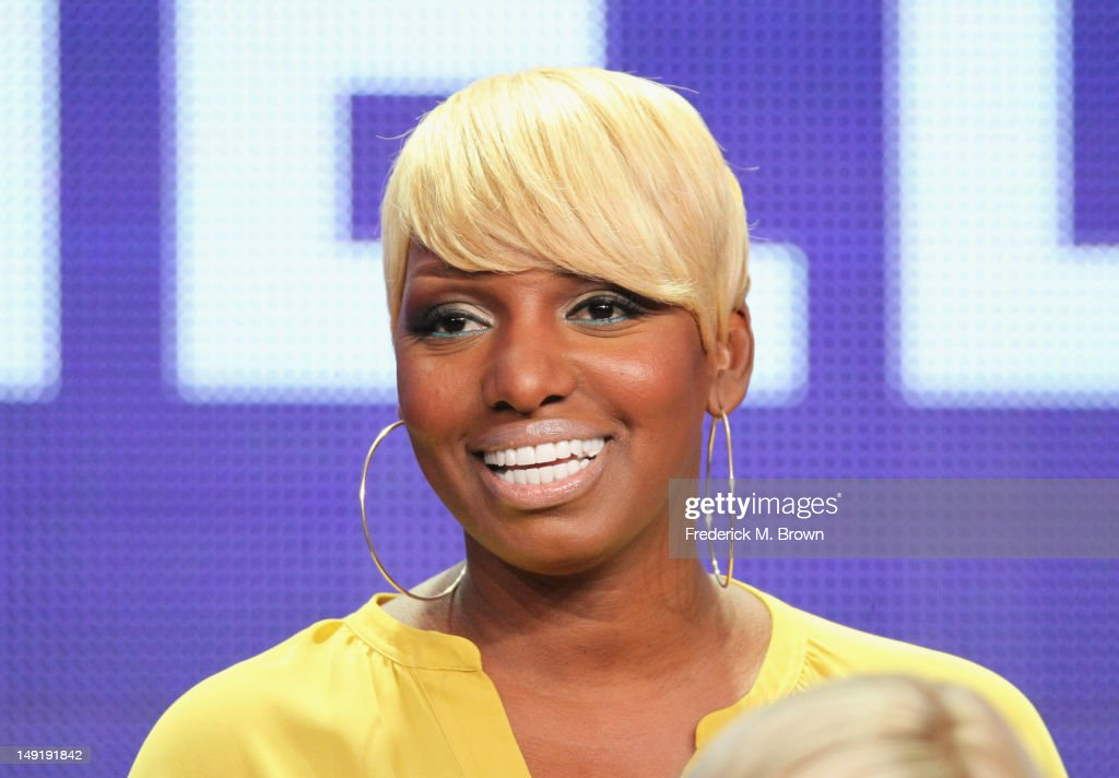 Actress NeNe Leakes speaks onstage at 'The New Normal' panel during day 4 of the NBCUniversal portion of the 2012 Summer TCA Tour held at the Beverly...