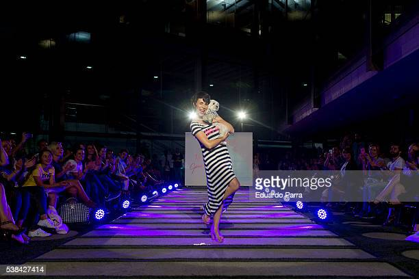 Actress Nera Garmendia attends 'By Nerea Garmendia' 2nd anniversary catwalk at COAM on June 6 2016 in Madrid Spain