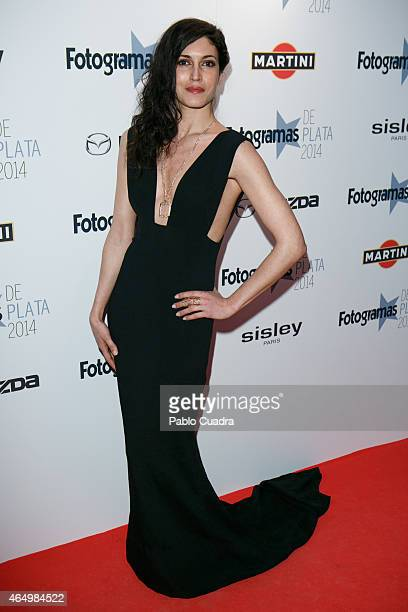 Actress Nerea Barros attends 'Fotogramas Awards 2014' at Joy Eslava theater on March 2 2015 in Madrid Spain