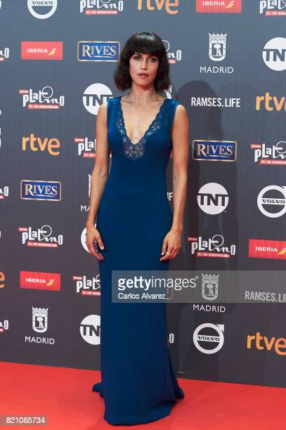 Actress Nerea Barros attends the Platino Awards 2017 photocall at the La Caja Magica on July 22 2017 in Madrid Spain