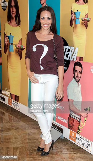 Actress Nerea Garmendia attends 'Al final de la carretera' premiere photocall at Fernando Fernan Gomez theatre on October 7 2014 in Madrid Spain